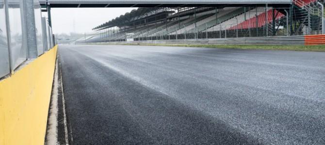El Hungaroring asfalto está en marcha!